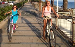 Una pedalata sul lungomare